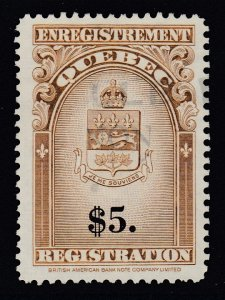 Canada, Quebec (Revenue), van Dam QR36, used