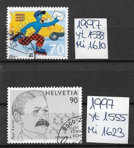 Switzerland used 1997  several issues
