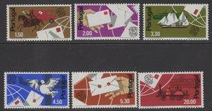 PORTUGAL SG1536/41 1974 CENTENARY OF UPU MNH
