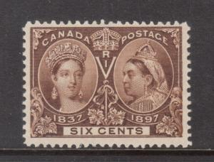 Canada #55 Very Fine Never Hinged **With Certificate**