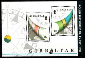 Gibraltar 1992 S.G. MS681 MNH (1357)