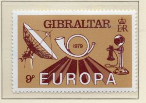 Gibraltar 1979 QEII Early Issue Fine Mint Unmounted 9p. NW-99291