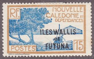 Wallis & Futuna Islands 49 New Caedonie Stamp O/P 1930