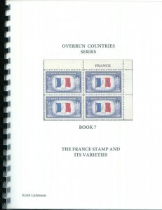The France Stamp & It's Varieties, Scott's 915, Spiral bound, 81 color pages