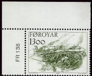 Faroe Islands SC#151 Mint VF SCV$3.50...Faroe Islands are Magical!