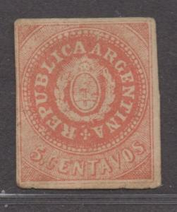 *Argentina SC# 7H MH, Fine, AS IS..May Be Counterfeit? CV $325.00