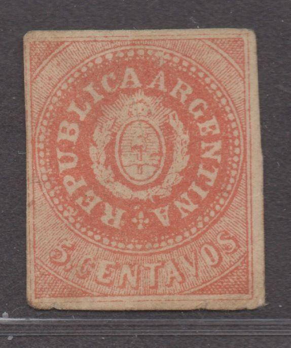 Argentina SC# 7H MH, Fine, CV $325.00
