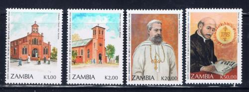 Zambia 553-56 NH 1991Set