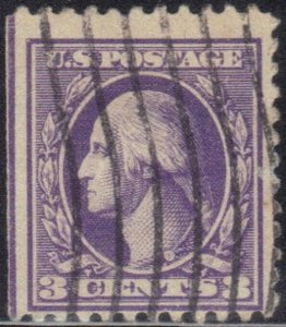 USA  509   3 CENT  USED  WASHINGTON  1918-20   SEE SCAN