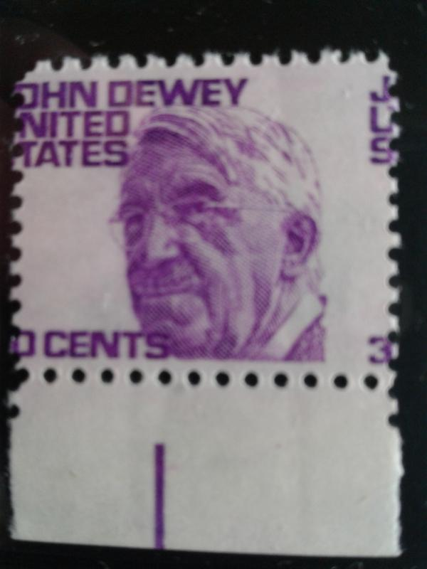 SCOTT # 1291 EFO MIS-PERFERATION THIRTY CENT DEWEY GEM MINT NEVER HINGED !!
