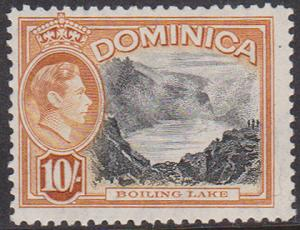 Dominica Scott 2015 #110 F-NH CAT. US$10.+ = CDN. $13.27