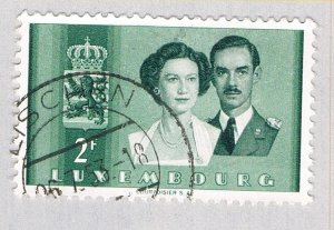 Luxembourg Royal couple brown 2f (AP133702)