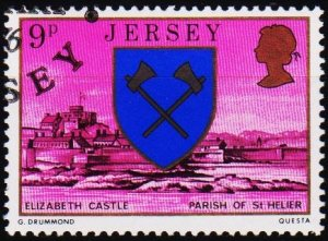Jersey. 1976 9p S.G.143 Fine Used