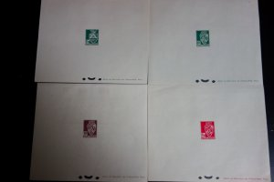 Algeria Stamps # 147-59 Set of 12 Deluxe Proofs All XF Rare set