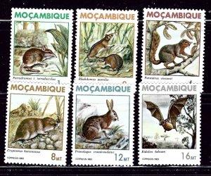 Mozambique 872-77 MH 1983 Wildlife    (ap2753)