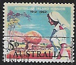 Australia # 346 - Nurse - Used....(GR8)