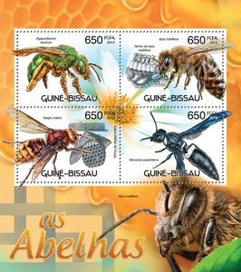 Stamps of GUINEA-BISSAU . 2012 - BEES.