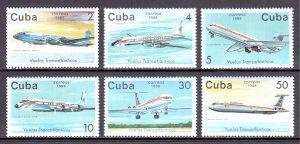 Cuba - Scott #3028-3033 - MNH - SCV $3.65