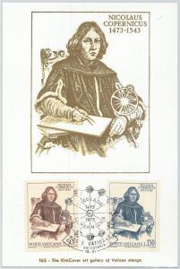 63848 - VATICANO Vatican - POSTAL HISTORY:  MAXIMUM CARD 1973 -  COPERNICUS