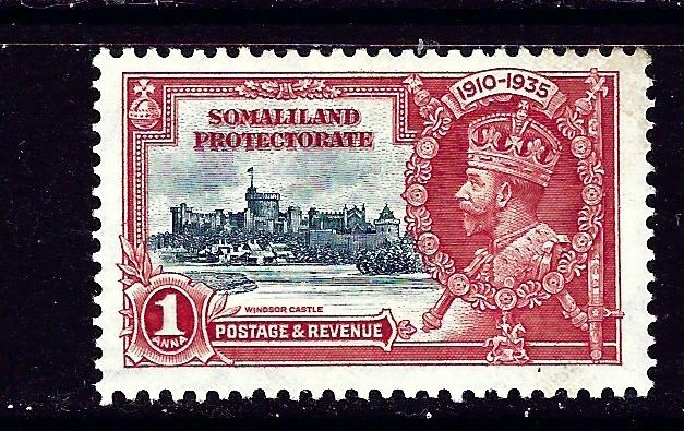 Somaliland 77 MH 1935 from KGV Sikver Jubilee