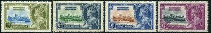 NORTHERN RHODESIA-1935 Silver Jubilee Set Sg 18-21 MOUNTED MINT V48373