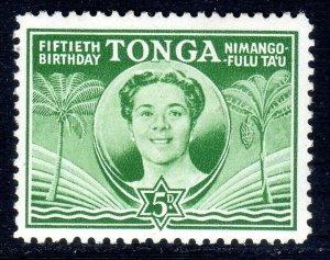 TONGA --  1950 -- SG 93  -   5d   value     MM