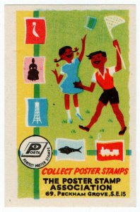 (I.B) Cinderella Collection : Collect Poster Stamps Label