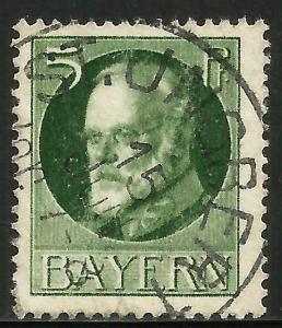 Germany, Bavaria 1914 Scott# 96a Used