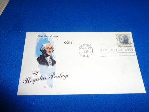 FLEUGEL MULTI COLORED CACHET FDC:  US SCOTT#  1229
