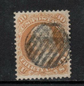 USA #71 Extra Fine Used Gem **With Certificate**