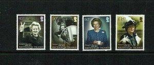 Ascension: 2013 Margaret Thatcher Commemoration, MNH set
