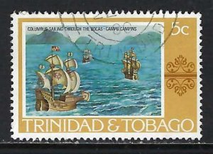 TRINIDAD & TOBAGO 262 VFU COLUMBUS H1246-1