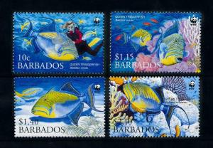 [99634] Barbados 2006 Marine Life Sea Fish Diving WWF  MNH