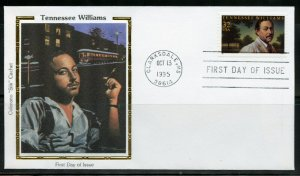 UNITED STATES  COLORANO  1995 TENNESSEE WILLIAMS  FIRST DAY  COVER