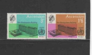ASCENSION #102-103  1966  WHO HEADQUARTERS     MINT VF LH  O.G
