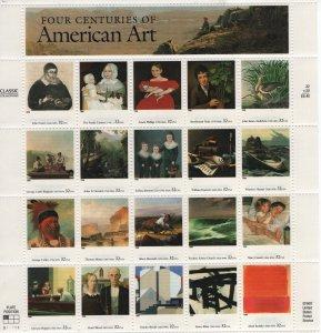 USA, 3236, MNH, 1998, American art