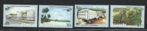 St Kitts    mnh sc 398 - 401