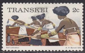 Transkei 6 USED 1976 Soil Conservation