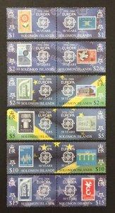 Solomon Islands 2006 #1001-6, Europa 50th Anniversary, MNH.