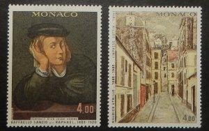 Monaco 1387-88. 1983 Paintings, NH