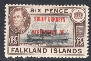 FALKLAND ISLANDS SCOTT 4L6