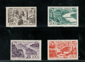 France #C23 - #C26 Extra Fine Never Hinged