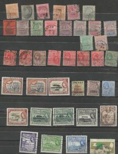 British Guiana stamp collection **