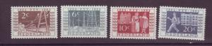 J10832 JL Stamps @20%scv 1952 netherlands hv set4 mh #b336-9 railroad