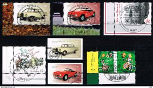 Germany 2015,Michel# 3143 - 3198 used First day