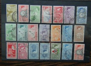 Bermuda 1953 - 1962 set to £1 Fine Used SG135 - SG150