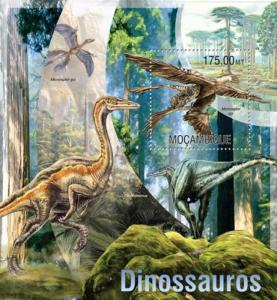 Mozambique - 2013 Dinosaurs on Stamps -  Stamp S/S - 13A-1263