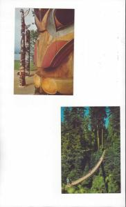 Canada .08 Postal Cards, 5 Dif. With Scenes From British Columbia Province Mint
