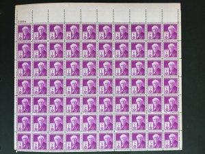 1947 sheet - Thomas Edison Sc# 945