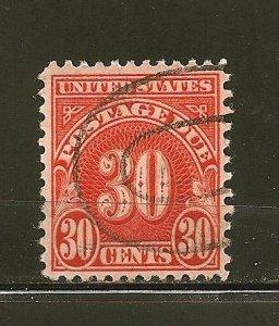 USA J75 Postage Due Used